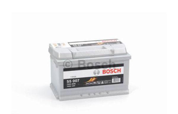 BOSCH S5 – 12V, 74Ah, 750A