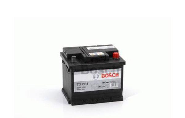 BOSCH T3 – 12V, 45Ah, 300A