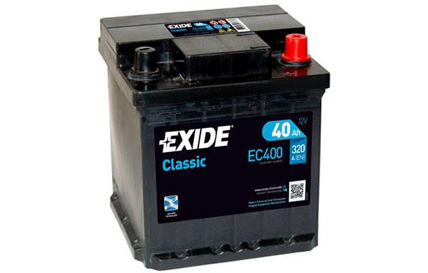 EXIDE CLASSIC – 12V, 40Ah, 320A