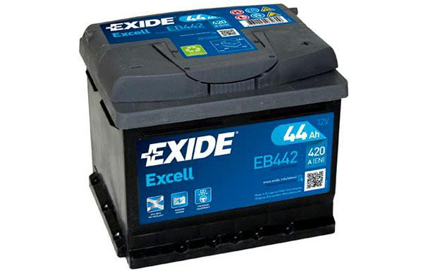 EXIDE EXCELL – 12V, 44Ah, 420A