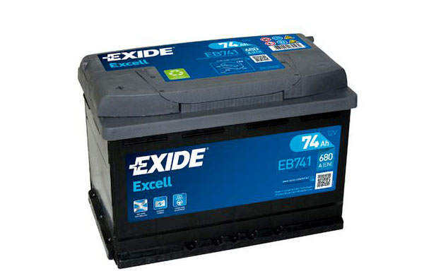 EXIDE EXCELL – 12V, 74Ah, 680A