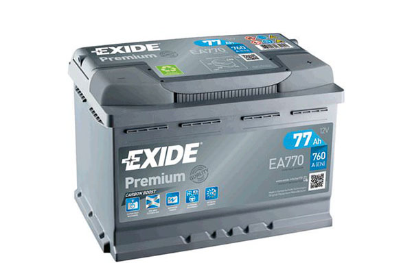 EXIDE PREMIUM – 12V, 77Ah, 760A