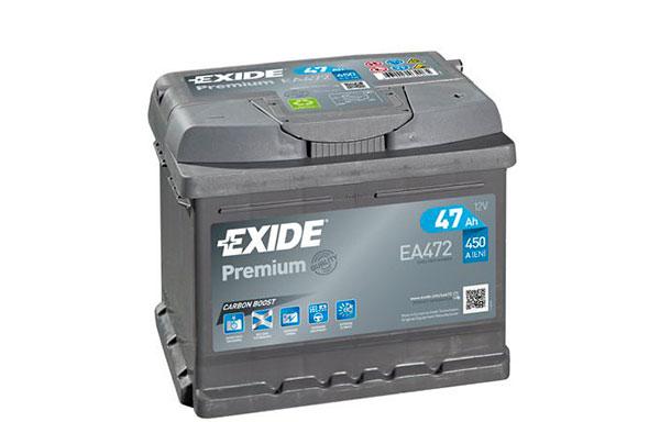 EXIDE PREMIUM – 12V, 47Ah, 450A
