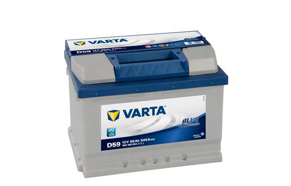 VARTA BLUE DYNAMIC – 12V, 60Ah, 540A