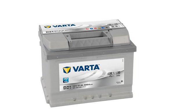 VARTA SILVER DYNAMIC – 12V, 61Ah, 600A